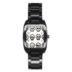 Avatar Emotions Icon Stainless Steel Barrel Watch by Sudhe