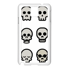 Avatar Emotions Icon Samsung Galaxy Note 3 N9005 Case (white)