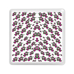 Sakura Blossoms On White Color Memory Card Reader (square) by pepitasart