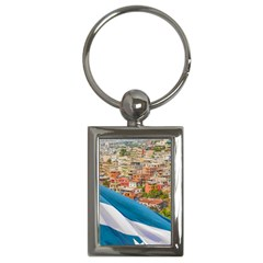 Santa Ana Hill, Guayaquil Ecuador Key Chain (rectangle)