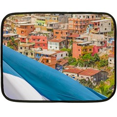 Santa Ana Hill, Guayaquil Ecuador Double Sided Fleece Blanket (mini)