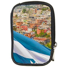 Santa Ana Hill, Guayaquil Ecuador Compact Camera Leather Case