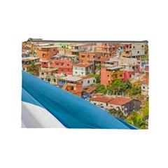 Santa Ana Hill, Guayaquil Ecuador Cosmetic Bag (large)