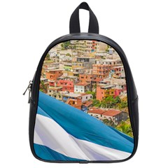 Santa Ana Hill, Guayaquil Ecuador School Bag (small)