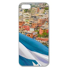 Santa Ana Hill, Guayaquil Ecuador Apple Seamless Iphone 5 Case (clear) by dflcprintsclothing