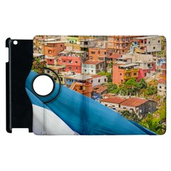 Santa Ana Hill, Guayaquil Ecuador Apple Ipad 2 Flip 360 Case by dflcprintsclothing