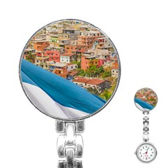 Santa Ana Hill, Guayaquil Ecuador Stainless Steel Nurses Watch