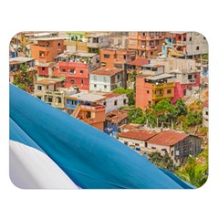 Santa Ana Hill, Guayaquil Ecuador Double Sided Flano Blanket (large)  by dflcprintsclothing