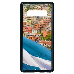 Santa Ana Hill, Guayaquil Ecuador Samsung Galaxy S10 Plus Seamless Case (black)