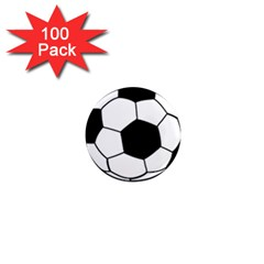 Soccer Lovers Gift 1  Mini Magnets (100 Pack)  by ChezDeesTees