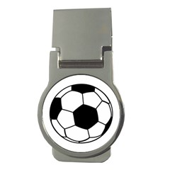 Soccer Lovers Gift Money Clips (round)  by ChezDeesTees