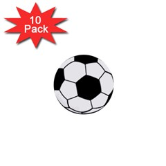 Soccer Lovers Gift 1  Mini Buttons (10 Pack)  by ChezDeesTees