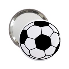 Soccer Lovers Gift 2 25  Handbag Mirrors by ChezDeesTees