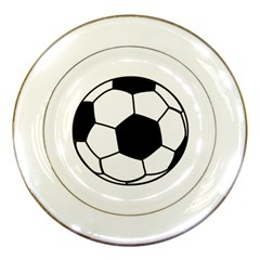 Soccer Lovers Gift Porcelain Plates by ChezDeesTees