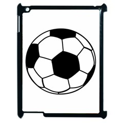Soccer Lovers Gift Apple Ipad 2 Case (black) by ChezDeesTees