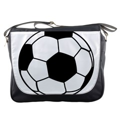 Soccer Lovers Gift Messenger Bag by ChezDeesTees
