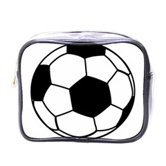 Soccer Lovers Gift Mini Toiletries Bag (one Side) by ChezDeesTees