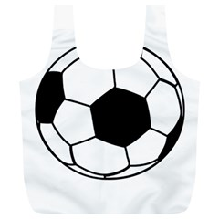 Soccer Lovers Gift Full Print Recycle Bag (xl) by ChezDeesTees