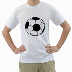 Soccer Lovers Gift Men s T-shirt (white)  by ChezDeesTees