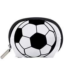 Soccer Lovers Gift Accessory Pouch (small) by ChezDeesTees