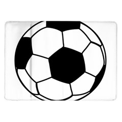 Soccer Lovers Gift Samsung Galaxy Tab 10 1  P7500 Flip Case by ChezDeesTees