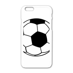 Soccer Lovers Gift Iphone 6/6s White Enamel Case by ChezDeesTees
