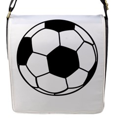 Soccer Lovers Gift Flap Closure Messenger Bag (s) by ChezDeesTees