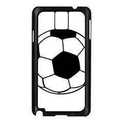 Soccer Lovers Gift Samsung Galaxy Note 3 N9005 Case (black) by ChezDeesTees