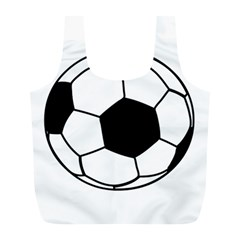 Soccer Lovers Gift Full Print Recycle Bag (l) by ChezDeesTees