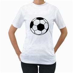Soccer Lovers Gift Women s T-shirt (white)  by ChezDeesTees
