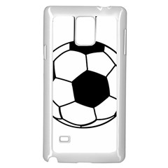 Soccer Lovers Gift Samsung Galaxy Note 4 Case (white) by ChezDeesTees