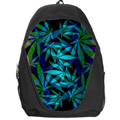 420 Ganja Pattern, Weed Leafs, Marihujana In Colors Backpack Bag by Casemiro
