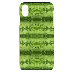 Watermelon Pattern, Fruit Skin In Green Colors Iphone Xs Max