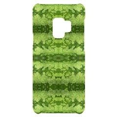 Watermelon Pattern, Fruit Skin In Green Colors Samsung S9 Black Uv Print Case