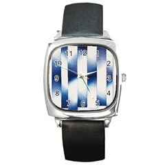 Shiny Stars Square Metal Watch by Sparkle