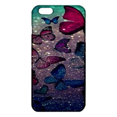 Glitter Butterfly Iphone 6 Plus/6s Plus Tpu Case by Sparkle