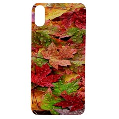 Spring Leafs Apple Iphone Xs Tpu Uv Case