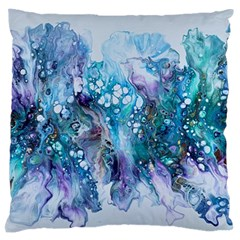 Sea Anemone  Standard Flano Cushion Case (one Side)