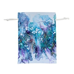 Sea Anemone  Lightweight Drawstring Pouch (l)