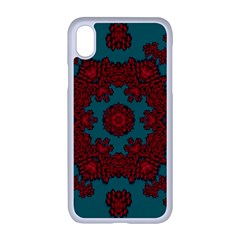 Cherry-blossom Mandala Of Sakura Branches Iphone Xr Seamless Case (white) by pepitasart