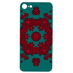 Cherry-blossom Mandala Of Sakura Branches Iphone 7/8 Soft Bumper Uv Case by pepitasart