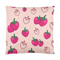 Seamless-strawberry-fruit-pattern-background Standard Cushion Case (one Side)