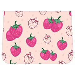 Seamless-strawberry-fruit-pattern-background Buckle Messenger Bag by Vaneshart