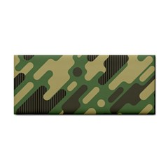 Camouflage-pattern-background Hand Towel
