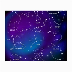 Realistic-night-sky-poster-with-constellations Small Glasses Cloth