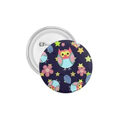 Owl Stars Pattern Background 1 75  Buttons