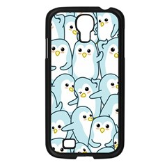 Penguins Pattern Samsung Galaxy S4 I9500/ I9505 Case (black) by Vaneshart