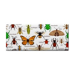 Insects Seamless Pattern Hand Towel
