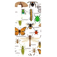 Insects Seamless Pattern Samsung A9 Black Uv Print Case