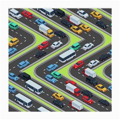 Urban-cars-seamless-texture-isometric-roads-car-traffic-seamless-pattern-with-transport-city-vector- Medium Glasses Cloth